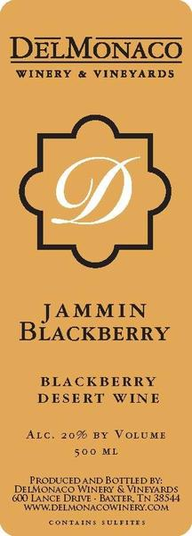 2017 Jammin Blackberry 750 ml Port Style