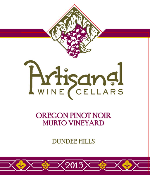 2013 Murto Vineyard Pinot Noir