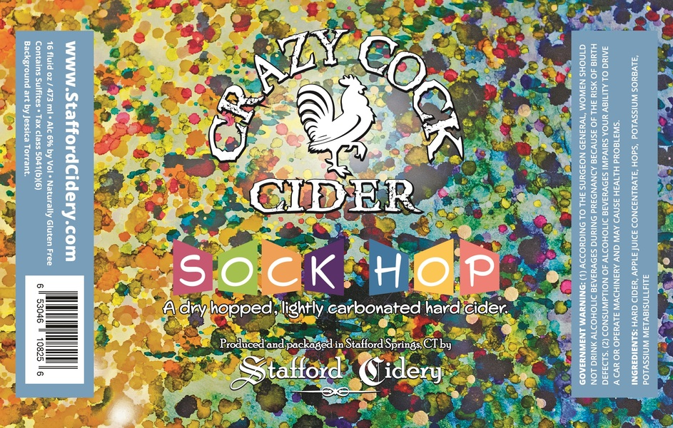 Product Image for Crazy Cock Cider - Sock Hop