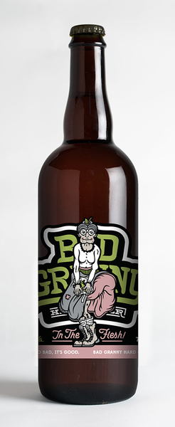 Bad Granny In The Flesh 750ml