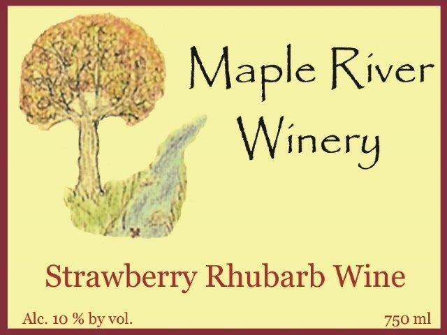 Product Image for Strawberry Rhubarb Wine