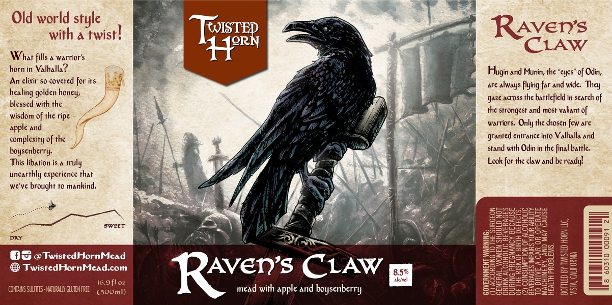 2019 Raven's Claw Mead