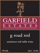 G Road Red Blend