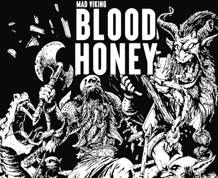 MAD VIKING - BLOOD HONEY