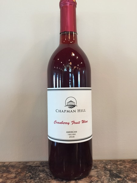 2018 Cranberry Fruit Wine