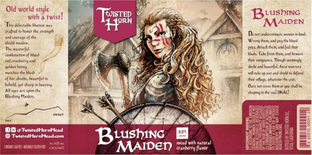 2019 Blushing Maiden Mead
