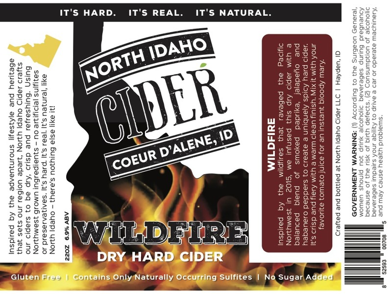 Product Image for 2017 North Idaho Wildfire Cider