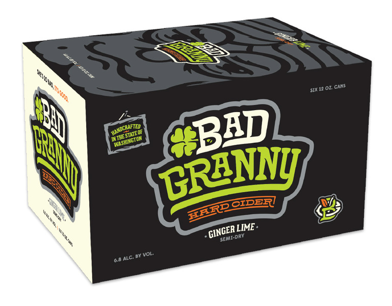 Product Image for Bad Granny Ginger Lime 6 Pack