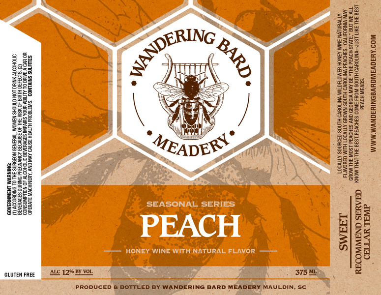 Product Image for 2018 Peach Mead