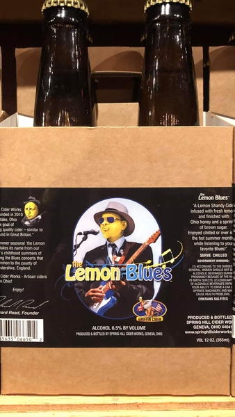 Product Image for 2018 Griffin's LemonBlues Hard Cider
