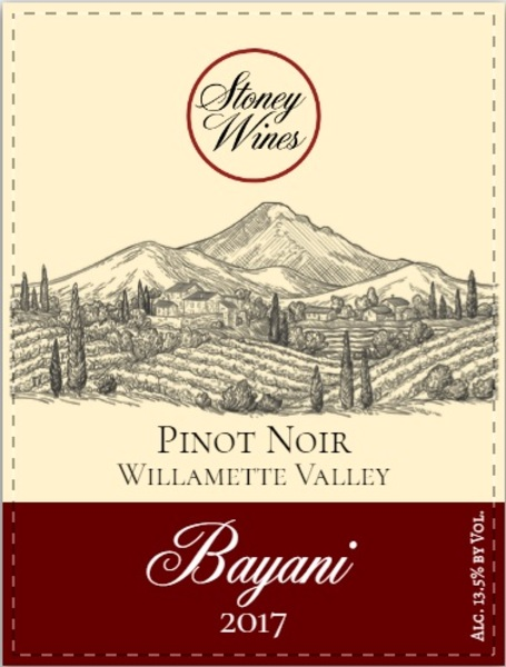 Product Image for 2017 Bayani Pinot Noir