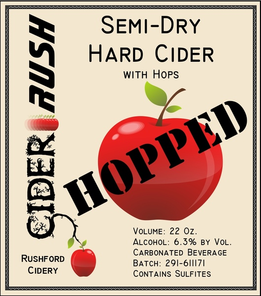 Product Image for 2018 Cider-Rush Hopped
