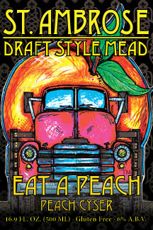 Eat a Peach Draft Mead