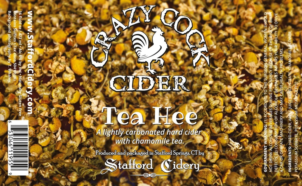 Crazy Cock Cider - Tea Hee