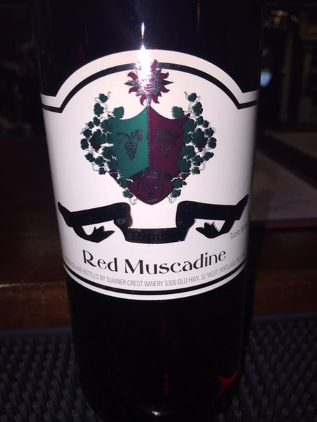 2018 Red Muscadine