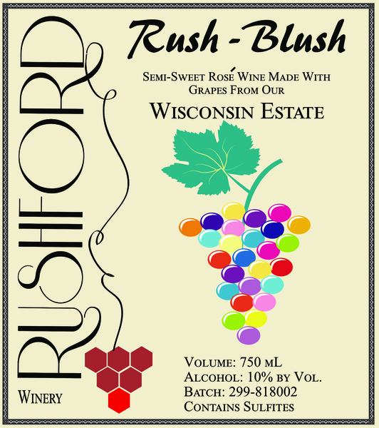 Product Image for 2018 Rush Blush - 750mL
