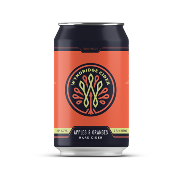 Apples & Oranges Hard Cider - 12oz can 6pk