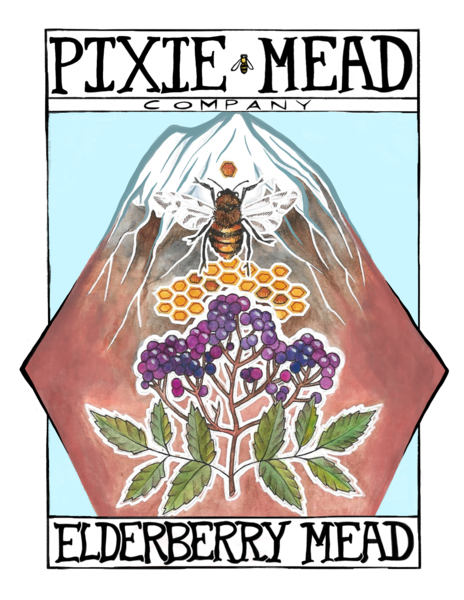 2020 Elderberry Mead