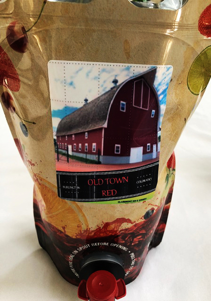 2020 Old Town Red in a 1.5 Litre Pouch