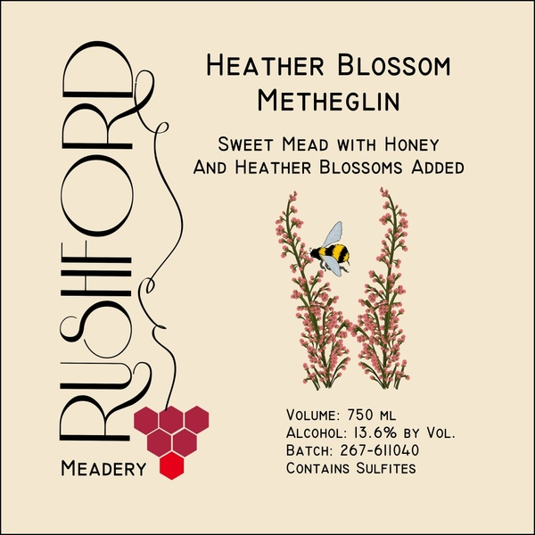 Product Image for 2016 Heather Blossom Metheglin - 750ml