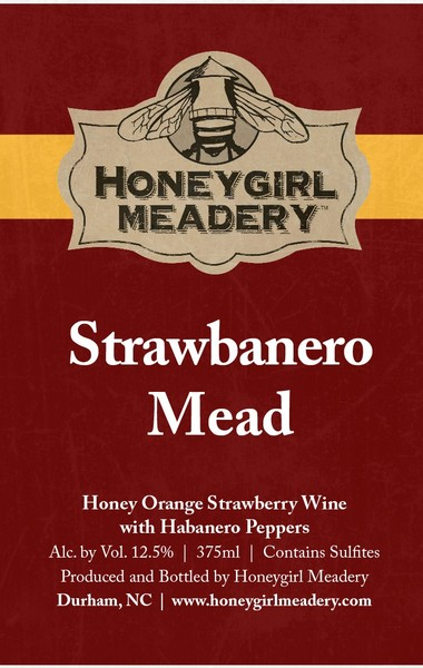 Product Image for 2018 Strawbanero Mead