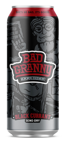 Bad Granny Black Currant 4 x 19.2oz