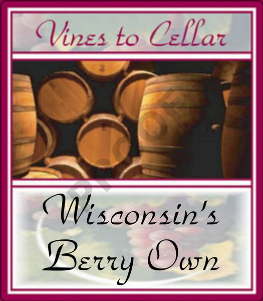 2019 Wisconsin Berry Own (White Cranberry Pinot Grigio)