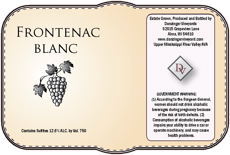 Product Image for 2016 Frontenac Blanc