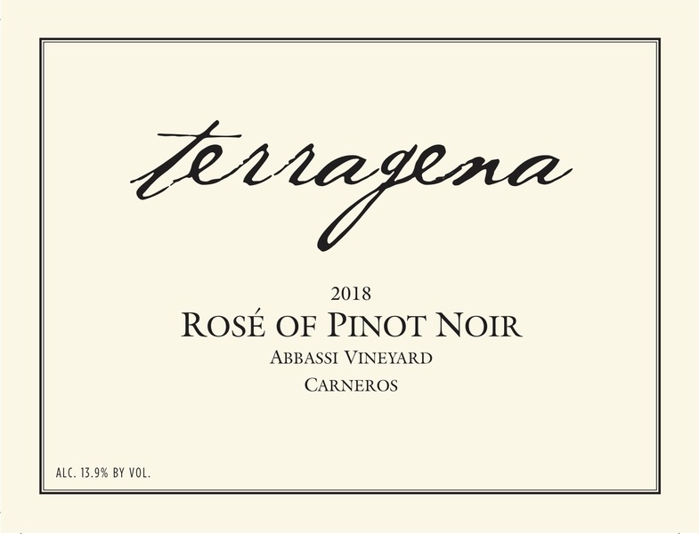 2018 Abbassi Vineyard Rosé of Pinot Noir