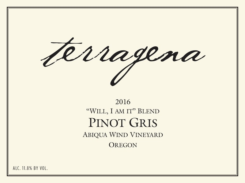 2016 Abiqua Winds Vineyard Pinot Gris