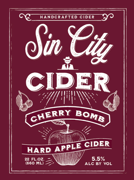 2019 Sin City Cherry Bomb Cider