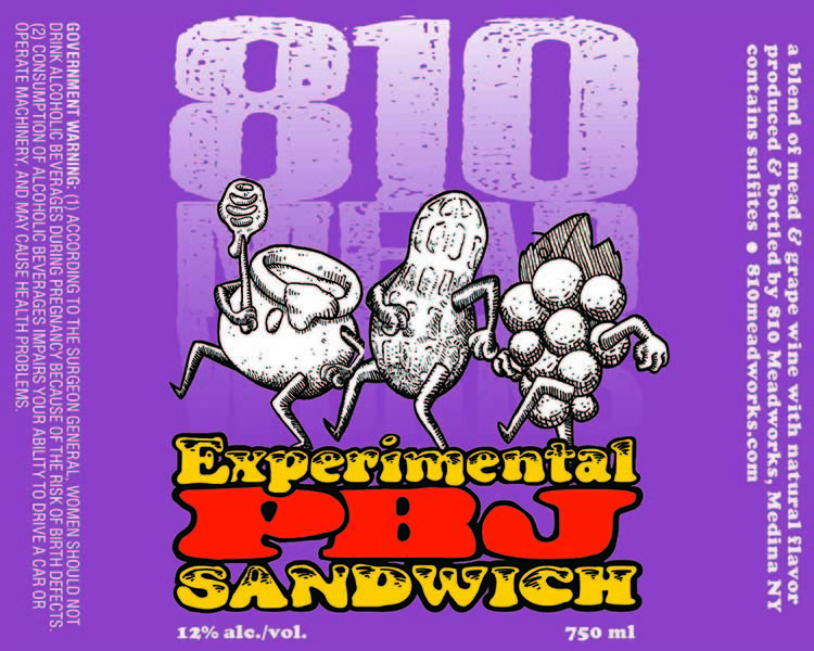 Product Image for Experimental PBJ Sandwich