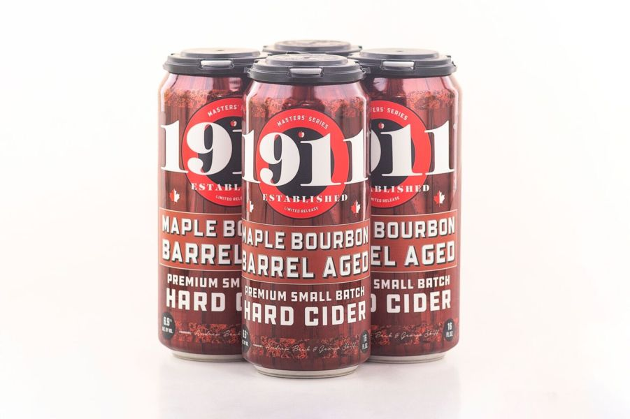 2020 Maple Bourbon Barrel Aged Hard Cider - 12 x 16oz Cans