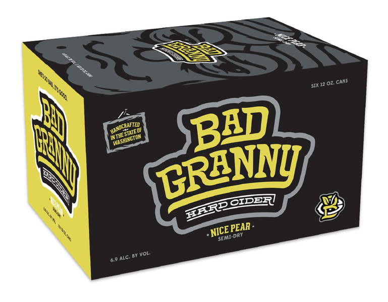 Bad Granny Nice Pear 6 Pack