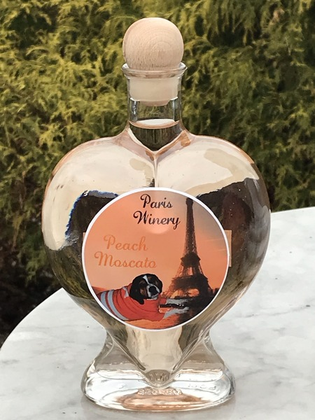 Product Image for 2019 Heart Shape Peach Moscato