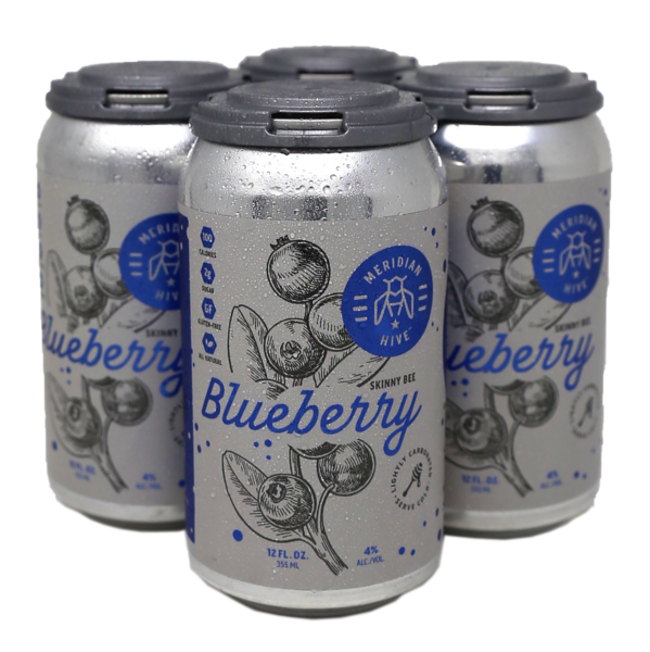 2020 Blueberry 4 Pack Cans