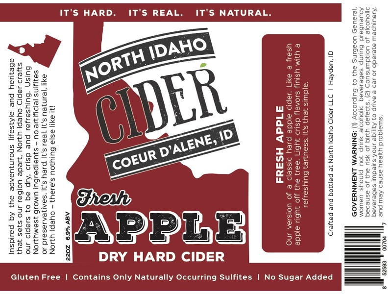 Product Image for 2017 North Idaho Fresh Apple Cider