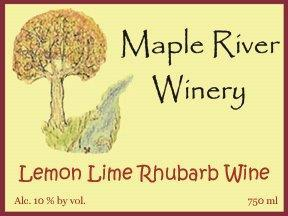 Product Image for Lemon Lime Rhubarb Wine