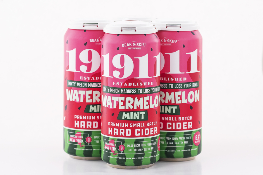 2020 Watermelon Mint Hard Cider - 12 x16oz Cans