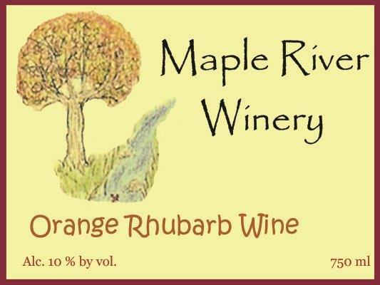 Product Image for Orange Rhubarb Wine