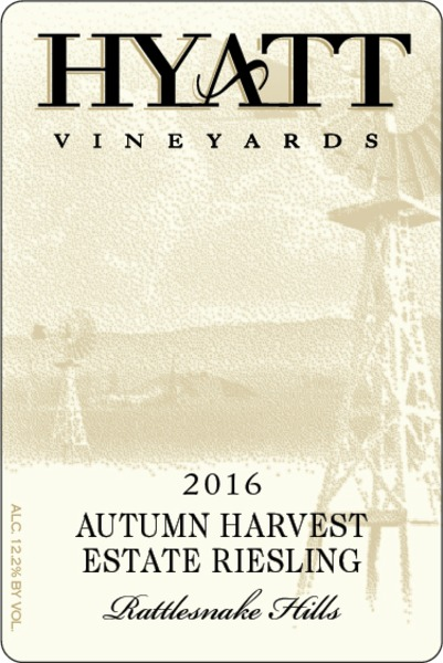 2016 Autumn Harvest Estate Riesling