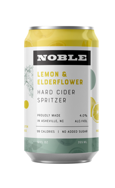 Lemon & Elderflower Spritzer - 4 pack