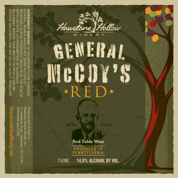 2019 General McCoy's Red