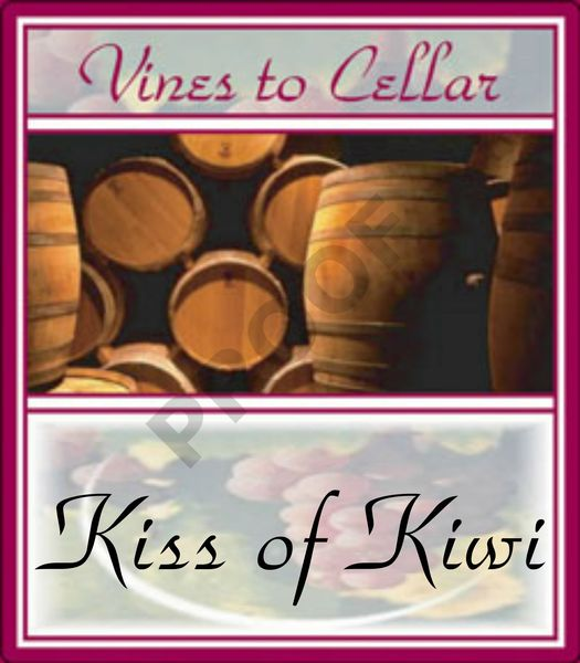 2020 Kiss of Kiwi (Kiwi Pear Sauvignon Blanc)
