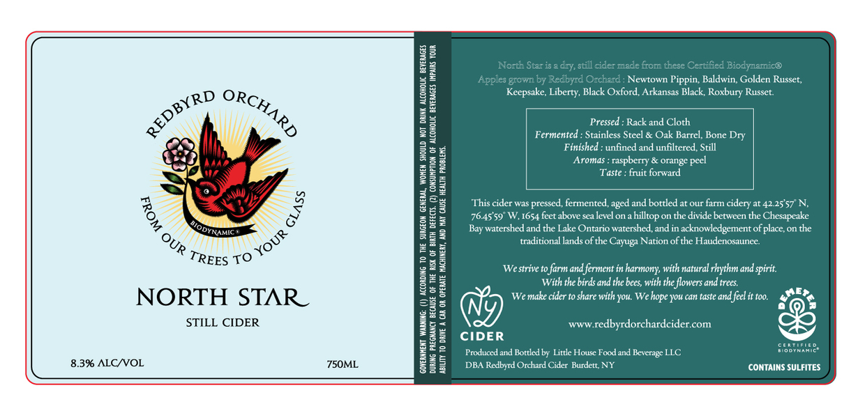 2019 Biodynamic North Star