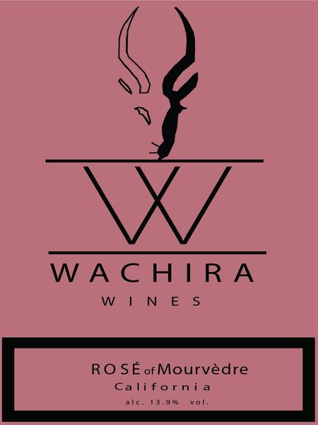 2019 (Pre-Order NOW!) Wachira Rose Gold Label - Rosé of Mourvedre