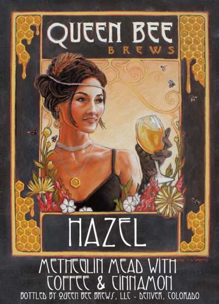2016 HAZEL - Coffee Cinnamon Metheglin