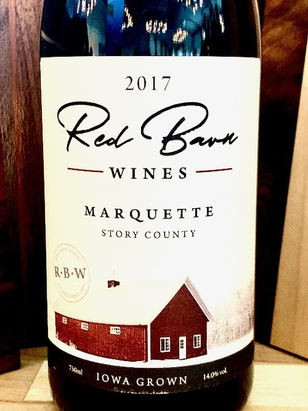 2017 Marquette -- Red Barn Wines
