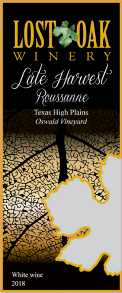 Product Image - 2018 Late Harvest Roussanne