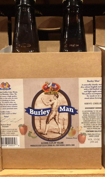 Product Image for 2018 Griffin's Burley Man Hard Cider
